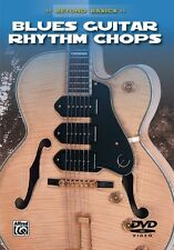 BLUES ELECTRIC GUITAR RHYTHM CHOPS - NEW DVD