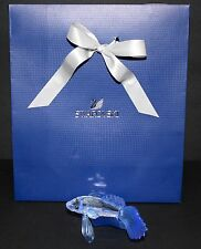 SWAROVSKI Blue South Sea Siamese Fighting Fish Retired