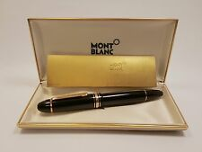 1980's MONTBLANC Meisterstuck 14C Gold NIB N°149 Fountain Pen, EXCELLENT!