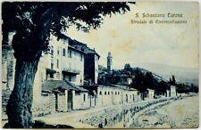 Cartolina Formato Piccolo - San Sebastiano Curone - Stradale Di Circonvallazione