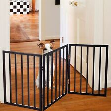PAW Easy Up Free Standing Brown Folding Gate 54 x 24 inches