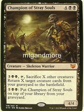 Magic Commander 2015 - 1x Champion of Stray Souls - Mythic Rare
