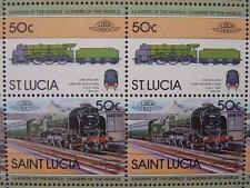 1926 SR 850 LORD NELSON Class 4-6-0 Train 50-Stamp Sheet (Leaders of the World)