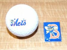 Binghamton Mets Label Pin and Logo Golf Ball Set - New York  Mets