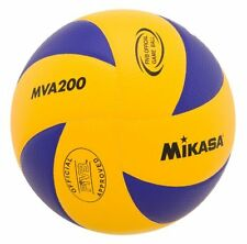 Mikasa MVA200 2016 Rio Olympic Game Ball (Blue/Yellow) (Mikasa Sports) BRAND NEW