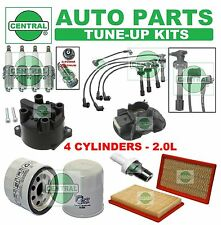 TUNE UP KITS for 00-01 G20 SENTRA(SE): SPARK PLUGS WIRE SET FILTERS; CAP & ROTOR