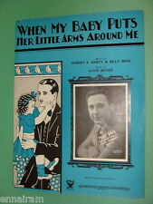 When My Baby Puts Her Little Arms Around Me 1933 band arrangement Harty Moss