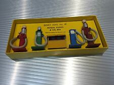 Vintage Dinky Toys / Classic / MIB / Gas Pumps & Oil Bin / Complete Set