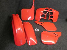 Honda CR125 1989 CR250 1988-1989 Doc Wob X-Fun complete red plastic kit PK1015