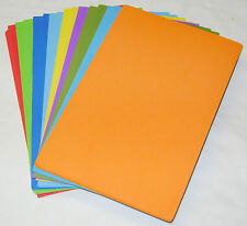 NEW 20 EVA FUN FOAM CRAFT A5 SHEETS ASSORTED COLOURS ART & CRAFT PMS