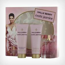 Halle Berry EXOTIC JASMINE 1.0 oz 30 ml EDP 2.5 oz 75 Lotion S/Gel Women Perfume
