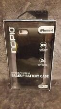 New! 100% Authentic Incipio OffGrid Express Battery Case iPhone 6/6s - Black
