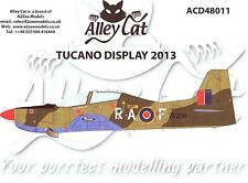 Alley Cat Decals 1/48 SHORTS TUCANO 2013 DISPLAY AIRCRAFT