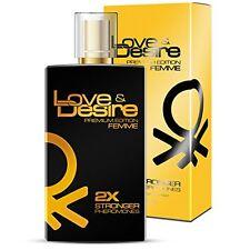 Love&Desire PREMIUM Mujer parfum feromonas 100ml  atraer a los hombres sexy