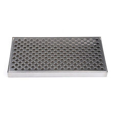 60CM Stainless Steel No Drain Counter Mount Drip Tray Beer Kegerator Home Brew