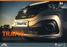 Renault Trafic Bus 9 places 2015 catalogue brochure