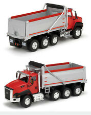 CAT CT660 DUMP TRUCK RED 1/50 DIECAST MODEL BY NORSCOT 55502