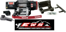 POLARIS RANGER MIDSIZE 900 CREW WARN PROVANTAGE 3500LB WINCH & MOUNT PLATE 2014