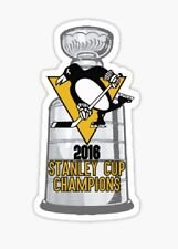 2016 Stanley Cup Pittsburgh Penguins Champions Sticker decal car laptop cute