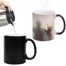 Zombies Heat Sensitive Color Changing Ceramics Coffee Mug Cup Magic Tea Reactive