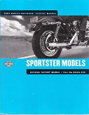 2002 Harley Sportster XL XLH 883R 1200 1200C Low Custom Hugger Repair Manual