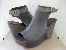 NIB $180 KORK-EASE *CURRENT STYLE* BERIT ANKLE STRAP BOOT BOOTIE GREY SANDAL 8