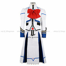 Magical Girl Lyrical Nanoha Nanoha Takamachi Uniform Cosplay Costume Cos Clothes