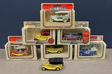 Lledo DG9 DG14 1930 Ford Model A Phaeton Lot Collection of 7 Diff 1980s 1:53