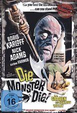 DAS GRAUEN AUF SCHLOSS WITLEY - Boris Karloff - Horrorfilm DVD - NEU OVP