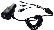 NEW UK BLACK IN CAR CHARGER FOR APPLE iPHONE 6 6 PLUS CAR PLUG CIGARETTE SOCKET