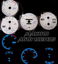 For Pontiac Firebird GTA/Trans AM V8 82-89 Silver Reverse Glow Gauge