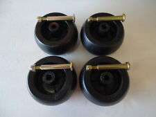 New 4 Pack Mower Deck Wheels & Bolts Cub Cadet RZT50 RZT54 753-04856A 174873