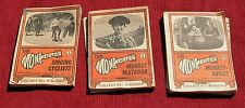THREE MONKEE'S TRADING CARD FLIP MOVING PICTURE BOOKS #3, #8, #16