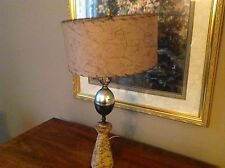 Mid century Modern Cork Table Lamp