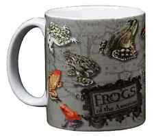Frogs of the Americas 11 Oz Coffee Mug Tea Cup Tree Frog Dart  Peeper Bullfrog