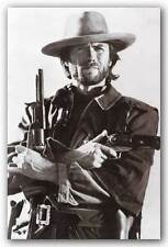 ACTOR POSTER Clint Eastwood Western Guns