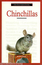 A New Owner's Guide to Chinchillas by Audrey Pavia (Hardback, 2003)
