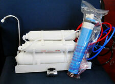 Counter top Reverse Osmosis Water Filter 5 STAGE 75 GPD Alkaline Drinking water