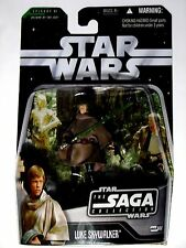 STAR WARS SAGA FIGURES LUKE SKYWALKER ENDOR GEAR #44 ACTION FIGURE