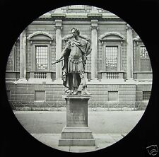 Glass Magic Lantern Slide STATUE OF KING JAMES II WHITEHALL LONDON C1890