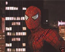 TOBEY MAGUIRE - SPIDERMAN AUTOGRAPH SIGNED PP PHOTO POSTER