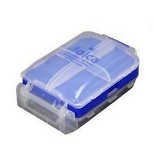 Japanese 8 Compartments Compact Pill Case Blue Color S-3317