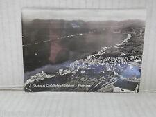 Vecchia cartolina foto d epoca di S MARIA DI CASTELLABATE SALERNO PANORAMA MARE