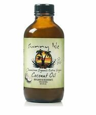 SUNNY ISLE JAMAICAN ORGANIC EXTRA VIRGIN OIL /100% NATURAL OIL /COCONUT OIL 4oz