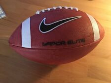 Nike Vapor Elite Black Football leather ball NEW