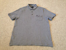 Fred Perry  Men's Polo Shirt Navy Size  Adult Medium   (M2)