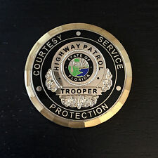 A1 Florida State Police Trooper Highway Patrol Challenge Coin