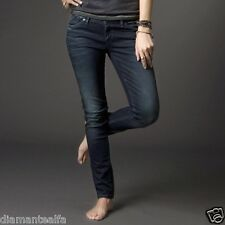 $89 Fox Racing Women's Snake Eyes Skinny Jeans - Midnight Wash sz 1/25