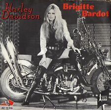 BRIGITTE BARDOT HARLEY DAVIDSON / CONTACT (GAINSBOURG) FRENCH 45 PS 7""