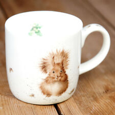 New Royal Worcester Wrendale Designs Treetop Red Squirrel Personalised Gift Mug